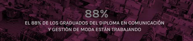 El 88% de los graduados están trabajando