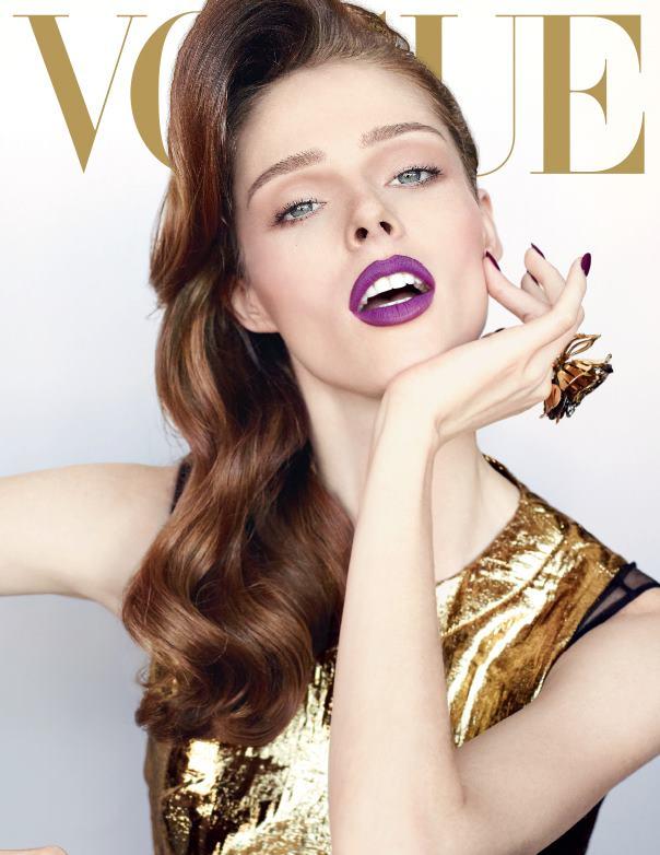 Coco Rocha en la portada de Vogue Mexico Diciembre 2012