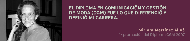 Testimonio Miriam Martínez Allué