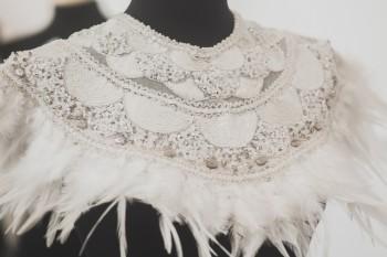 Diseño de Johan Luc Katt en la Feria Moda Vintage Madrid. Foto de Arturo Resel.