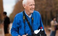 Bill Cunningham fotografiado por Scott Schuman