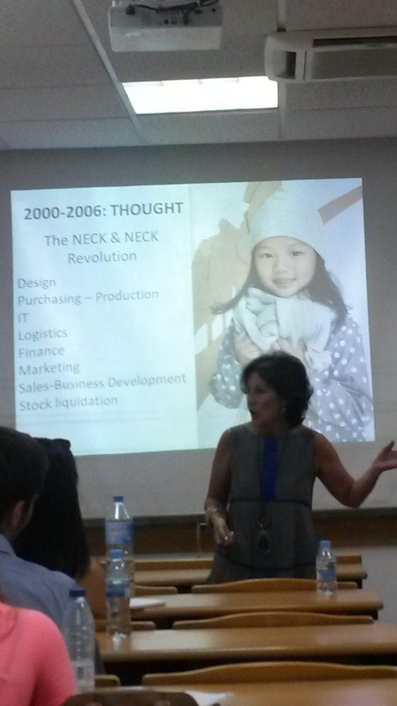 En clase con María Zamácola, Directora de Internacional y de Expansión de Neck&Neck