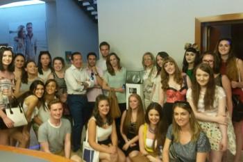 Foto de todos los alumnos de FRS 2015 en las oficinas de Mirto, Madrid