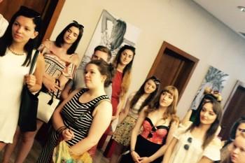 Alumnos del curso de verano FRS 2015 en las oficinas de Mirto, Madrid