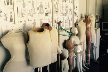 Maniquis del Museo del Traje, Madrid