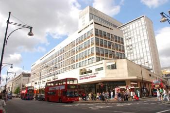 Entrada principal del London College of Fashion
