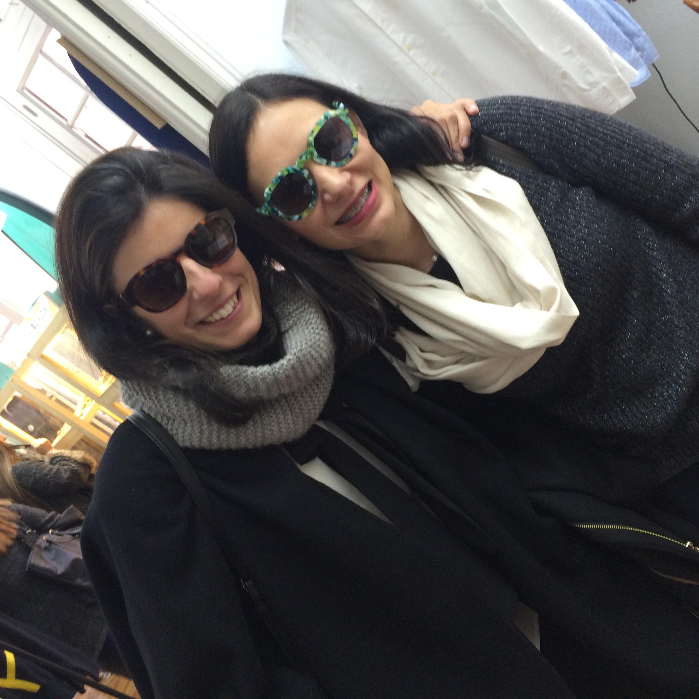 Pilar Miguel y Cristiña Nuñez, alumnas del posgrado Fashion Trends Analysis