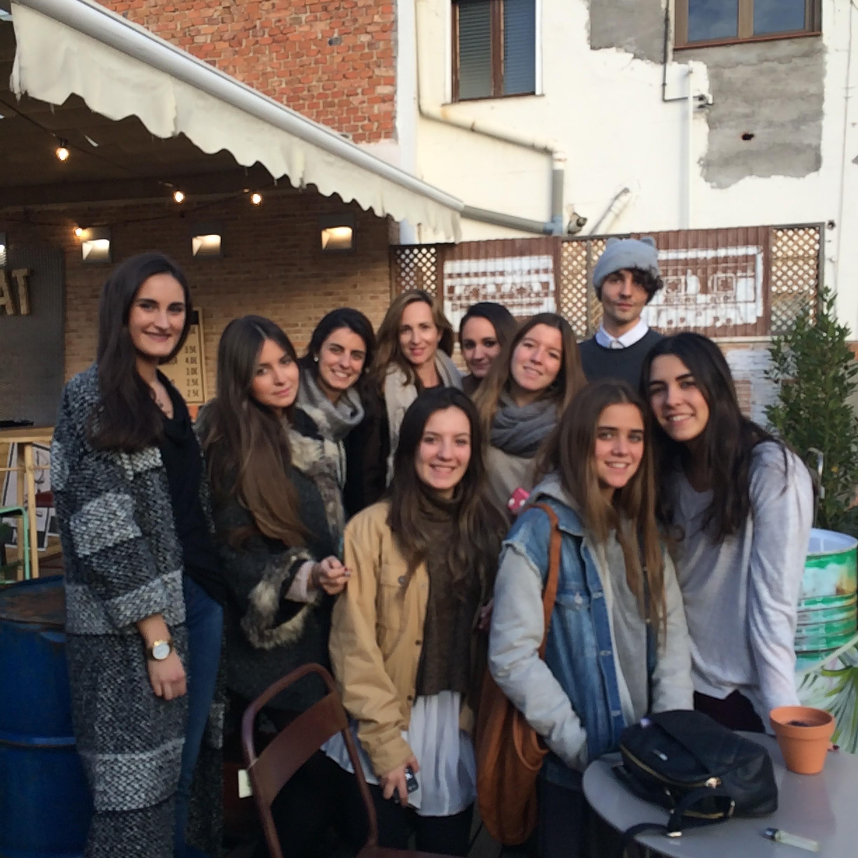 Alumnos de 1º curso CGModa.
