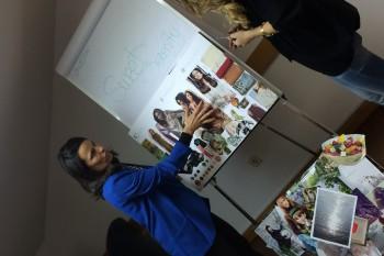 La profesora Susana Patiño, experta en coolhunting y análisis de tendencias.
