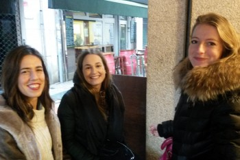 Blanca, Belén y Beatriz de 4º GModa