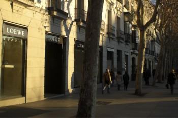 Flagship Store de Loewe en la calle Serrano de Madrid.