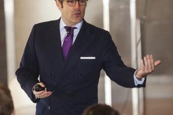 Gonzalo Brujo, consejero delegado de Latinoamérica, Europa, Oriente Medio y África de Interbrand. Foto: Carlos de la Osa.