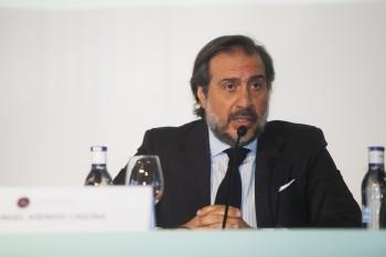 Angel Asensio, presidente de Fedecon, Moda España. Foto: Carlos de la Osa.