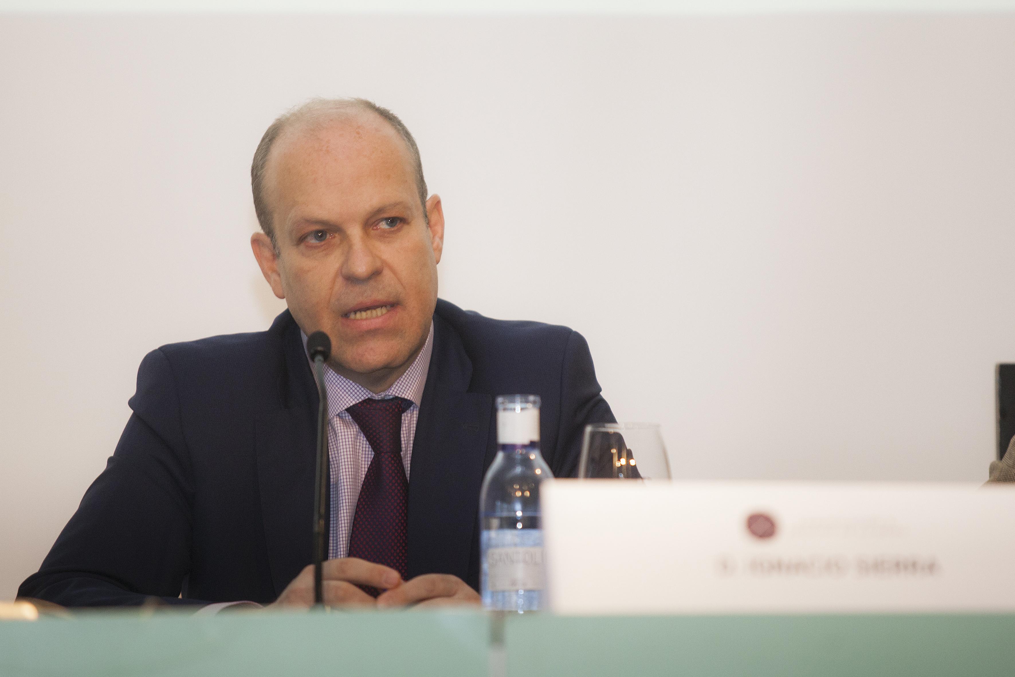 Ignacio Sierra, director general corporativo del Grupo Cortefiel. Foto: Carlos de la Osa.