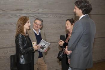 Paloma Diaz Soloaga, directora de CGModa; Javier de Rivera, director general de Gocco; Silvia López-Aguirrenegoa y Carlos Delso, de Joyería Suárez. Foto: Carlos de la Osa.
