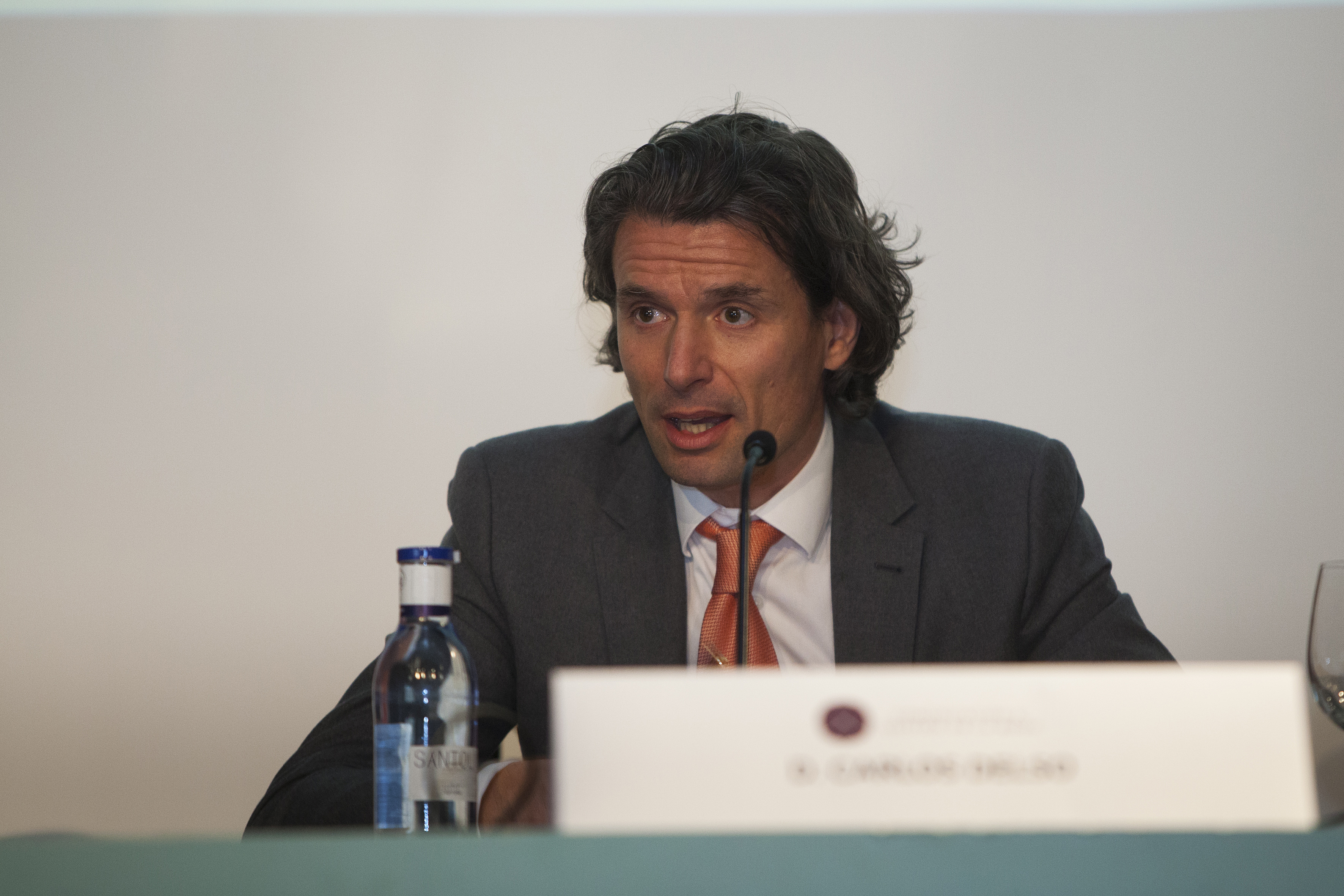 Carlos Delso, director general de Joyería Suárez. Foto: Carlos de la Osa.