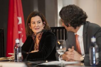 Silvia López-Aguirrebengoa, directora de compras de Sfera y Carlos Delso, director de Joyería Suárez. Foto: Carlos de la Osa.