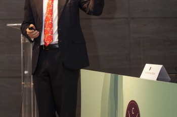 Borja Oria, socio en Grupo Arcano. Foto: Carlos de la Osa.