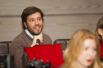 Asistente en las X Jornadas Moda y Comunicación 2016: Foto: Carlos de la Osa.