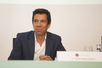Juan Manzanedo, director general de Logisfashion. Foto: Carlos de la Osa.