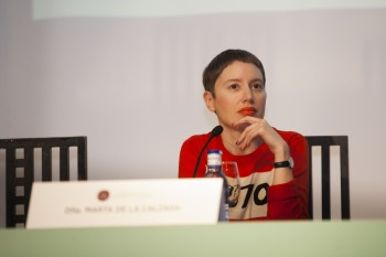 Marta de la Calzada, editora de Moda de Telva. Firma: Carlos de la Osa.