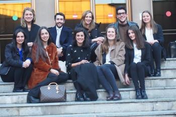 El equipo de gestión de las X Jornadas Moda y Comunicación. Foto: CGModa.