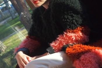 Marta de la Calzada, editora de moda de Telva. Foto: Carlos de la Osa.