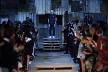 Pasarela de la colección Primavera Verano 2016 de Givenchy en New York Fashion Week, septiembre 2015. Foto: cuenta de Instagram de Givenchy.