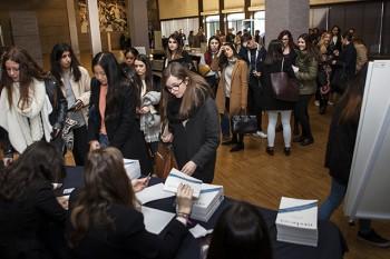 """Asistentes a las X Jornadas Moda y Comunicación """"Hecho en España: cuando el origen es el valor"""""""