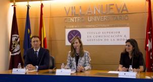 Paloma Díaz Soloaga, directora de CGM, inaugurando el acto.