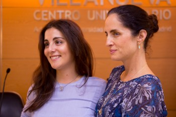 Carolina con Irene, alumna de CGM