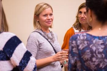 Gosia Pajkowska , profesora de CGM, después del encuentro con Carolina
