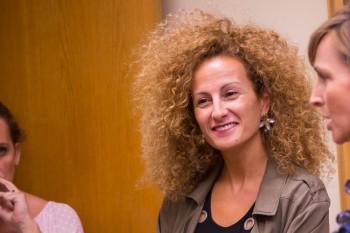Rosa Balsera de TVE, después del encuentro con Carolina