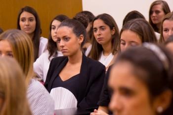 Alumnos de CGM durante el encuentro