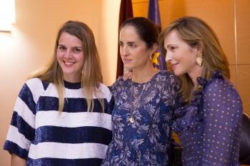 Carolina Herrera, Paloma Díaz Soloaga y Elisa Álvarez Espejo de Telva