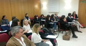 Profesores de CGM durante la conferencia
