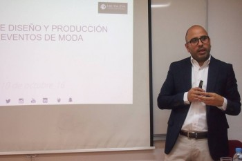 Leo Guiñazu, durante la clase