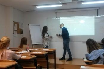 Intervenciones de los alumnos en el aula