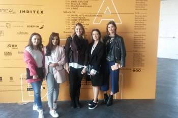 Rachel, Hannah, Teresa, Rachel y Nina