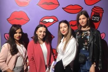 Cuatro estudiantes de GCU en Cibelespacio de MBFWM Febrero 2017