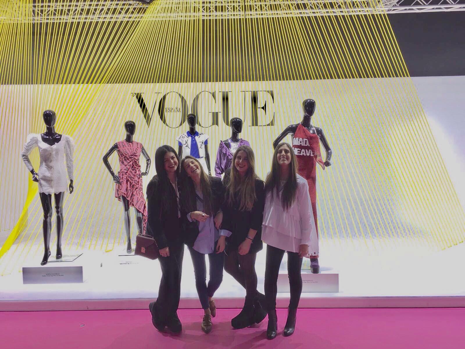 Cuatro estudiantes del Diploma de Moda de Villanueva en Mercedes Benz Fashion Week Madrid