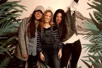 Mónica, Pilar y María del Diploma en Comunicación y Gestión de Moda de Villanueva.