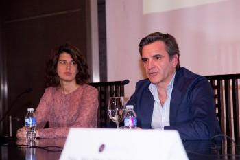 Sara Navarro de Cortefiel y Manuel de Timoteo de The Brubaker