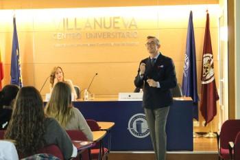Jose Ángel Usero durante la conferencia inaugural