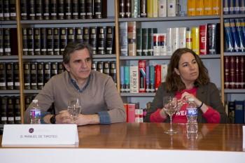 Manuel de Timoteo de The Brubaker y Cristina Ester de El Ganso