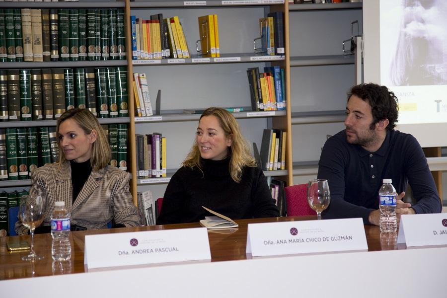 Andrea Pascual de Kimomi, Ana Mª Chico de Guzmán de Mimoki y Jaime Garrastazu de Pompeii