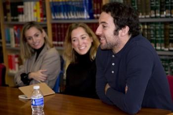 Andrea Pascual, Ana Mª Chico de Guzmán y Jaime Garrastazu