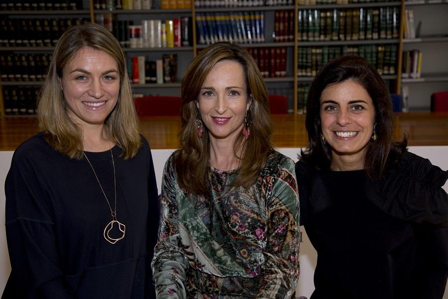 Teresa Pérez del Castillo, Paloma Díaz Soloaga y Pilar Miguel