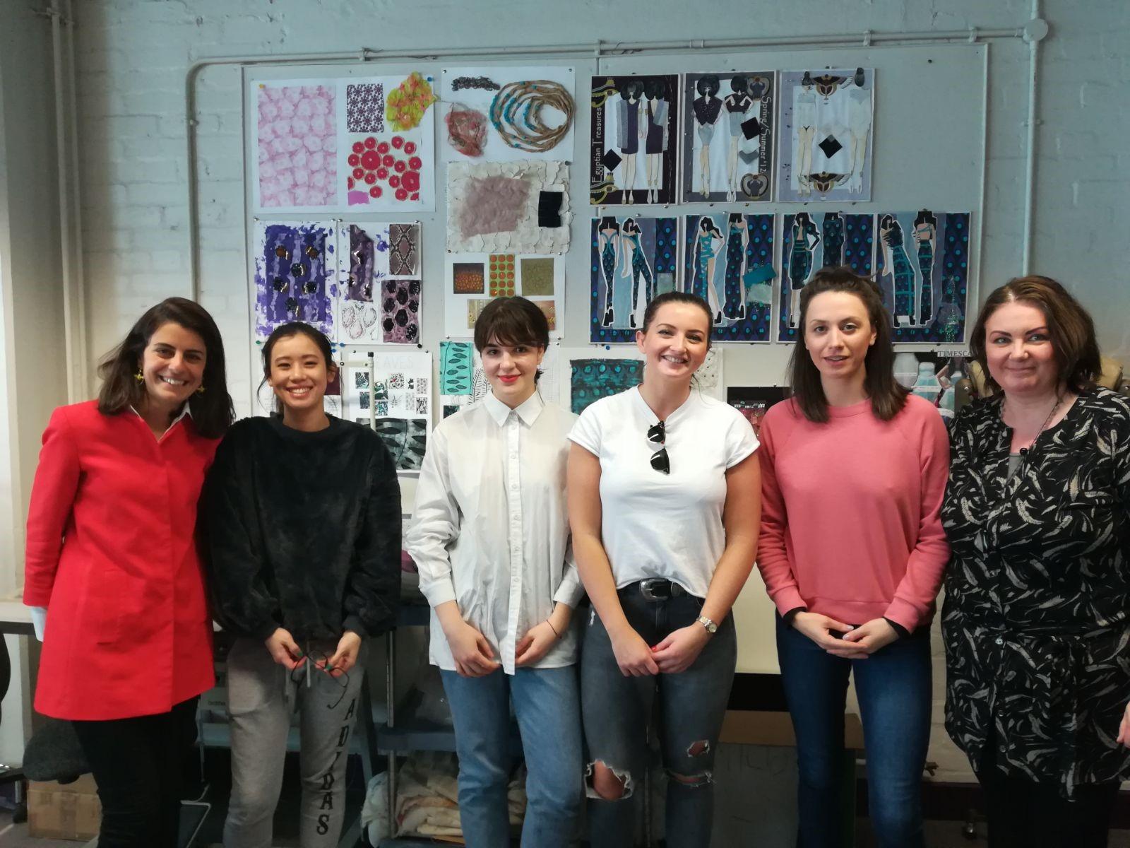 Alumnos de posgrado de moda