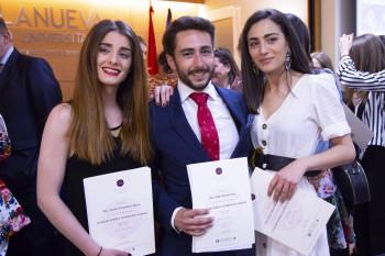 Marta Gil, Pablo Alarcón y Teresa Mª
